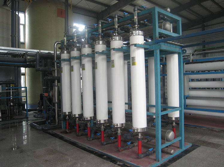 Water treatment ultrafiltration equipment
