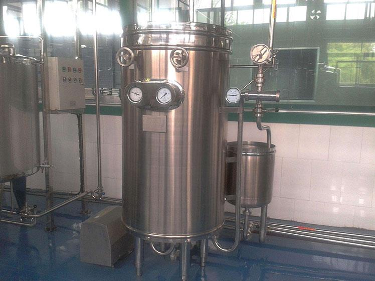 Ultrahigh temperature instant sterilizer