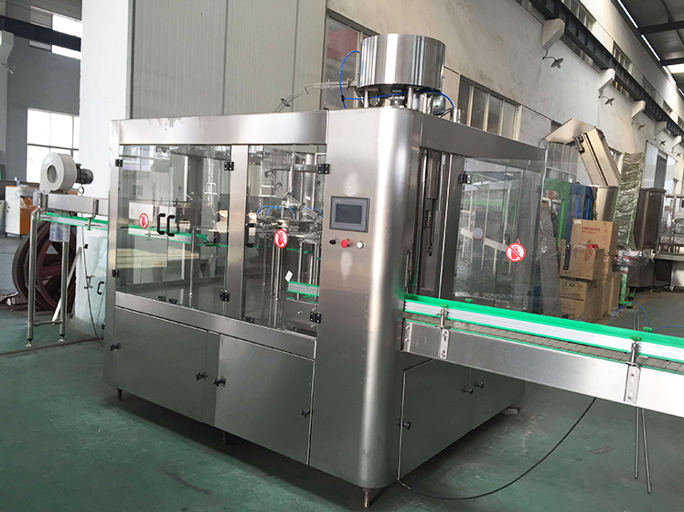 3000 bottles per hour pure water filling line