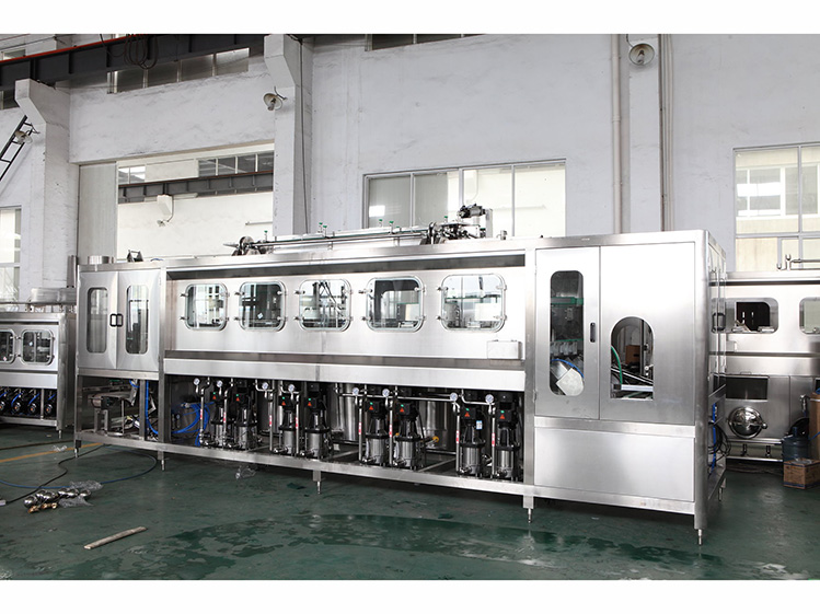 600 bottles per hour pure water filling line