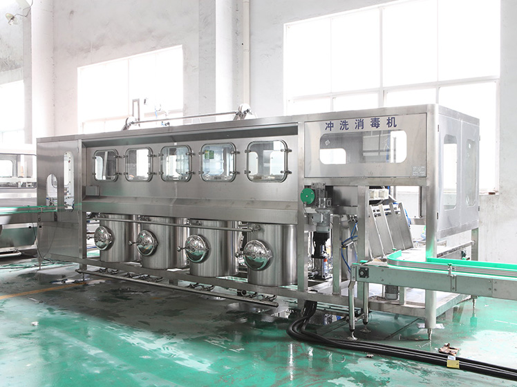 900 bottles per hour pure water filling line