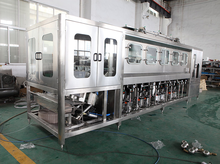 450 bottles per hour pure water filling line